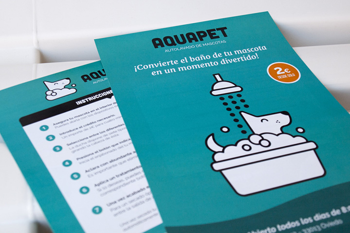 Aquapet promotional brochure