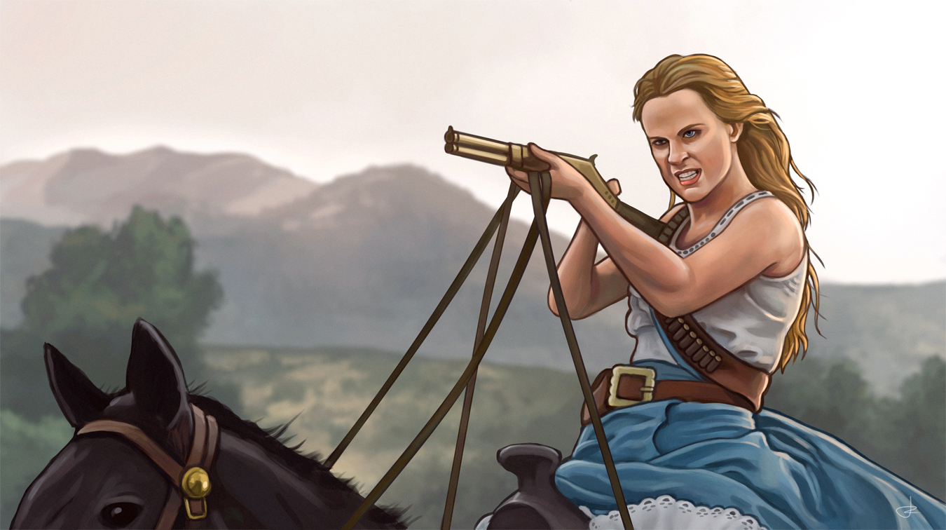 Dolores/Wyatt from «Westworld» season 2
