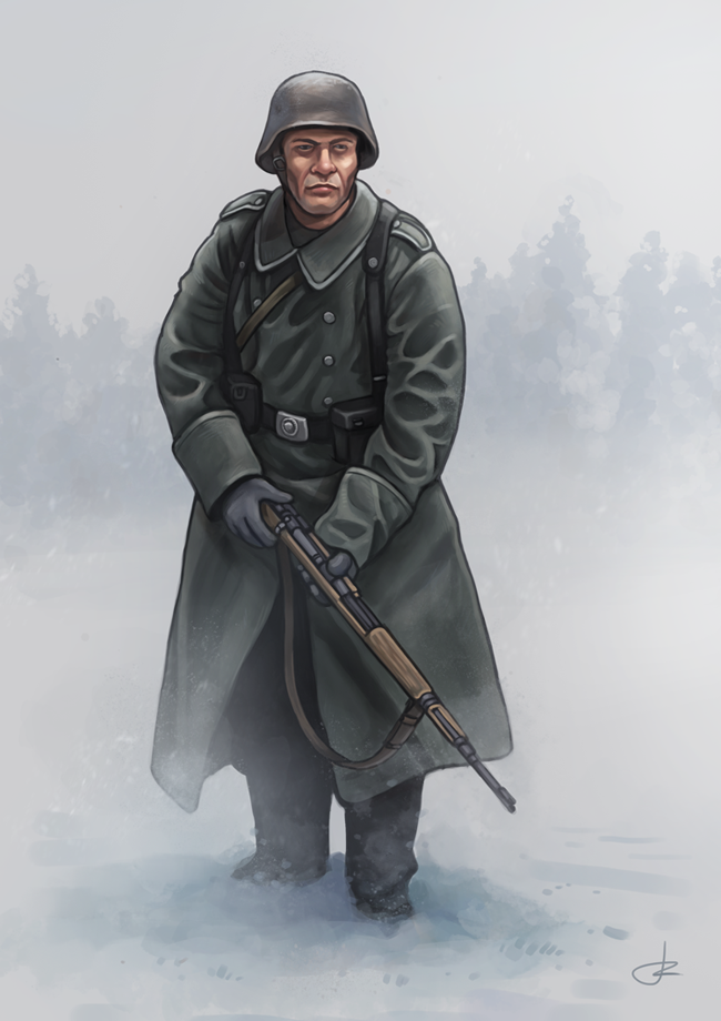 German Grenadier 1944