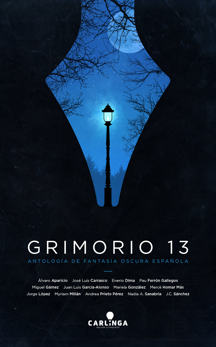 Grimorio 13 dark fantasy book cover