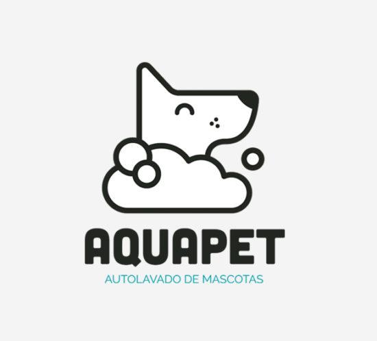 Aquapet - autolavado de mascotas logo