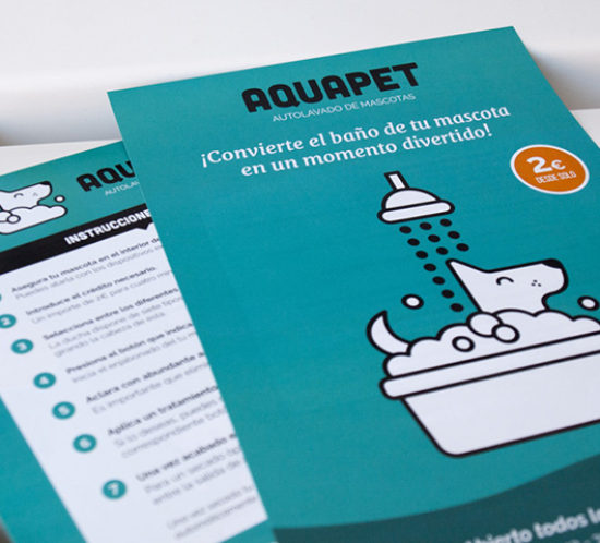 Aquapet promotional brochure
