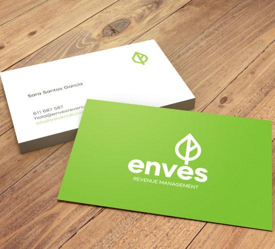 Enves revenue management business cards