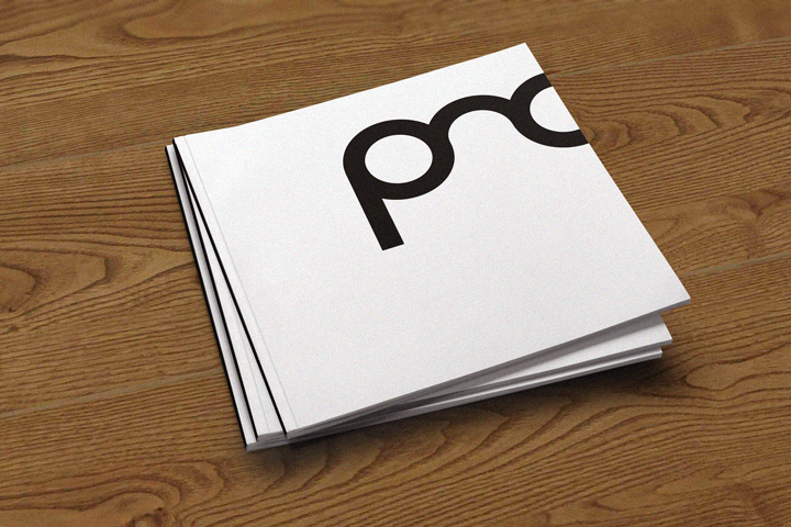 PMC promotional brochure cover design