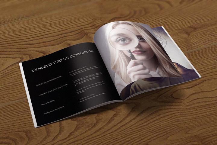 PMC promotional brochure inner design