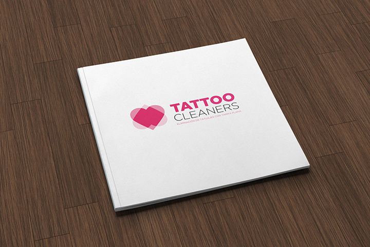 Tattoocleaners brochure design cover