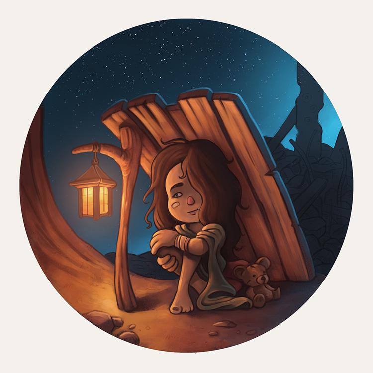Hogar=Refugio illustration