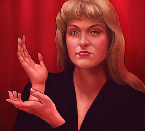 Portrait of Laura Palmer
