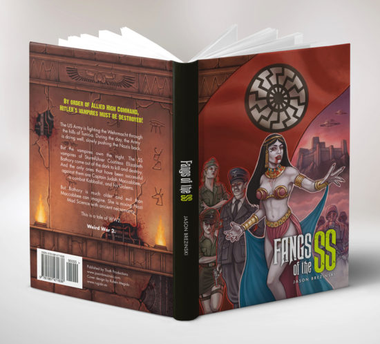 Fangs of the SS book jacket