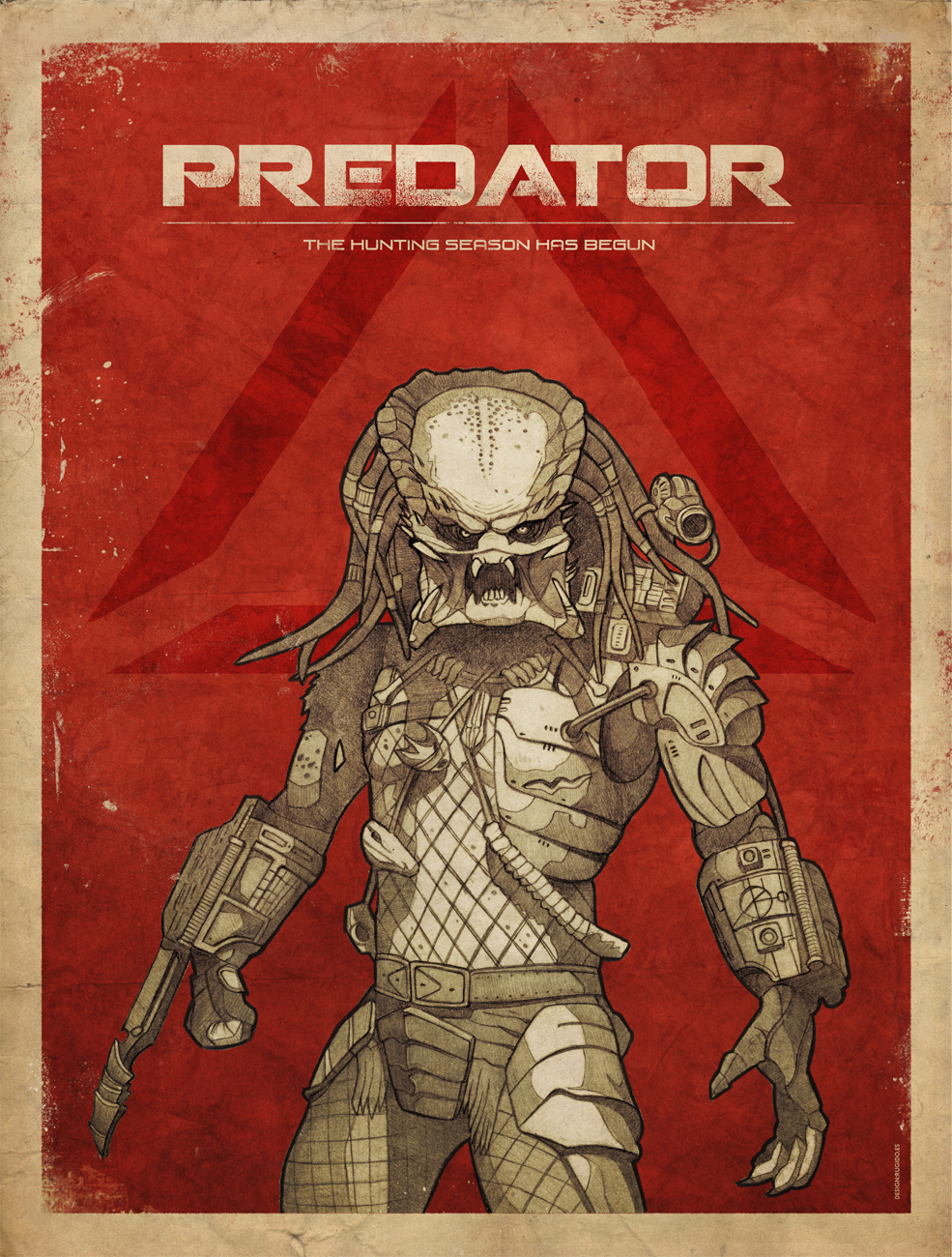Predator alternate movie poster