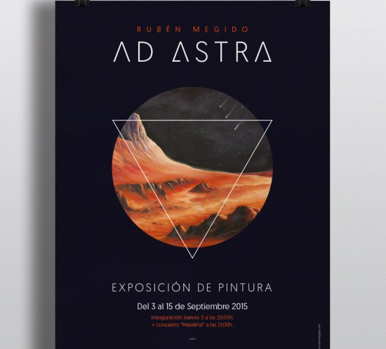 Ad Astra poster design