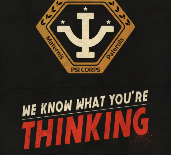 Babylon 5 poster Psi Corps