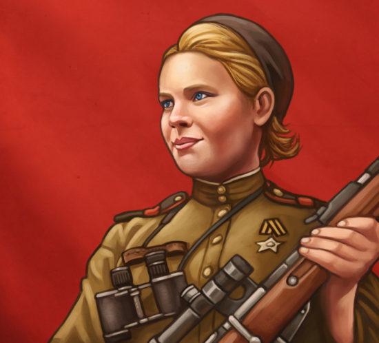 Roza Shanina, soviet sniper