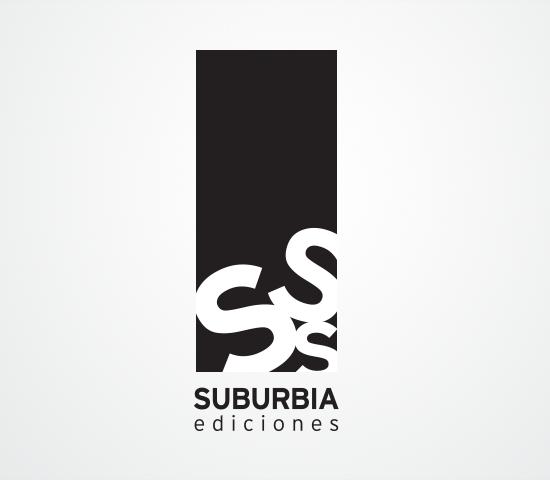 Suburbia ediciones logo design