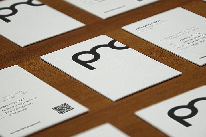 PMC business card design